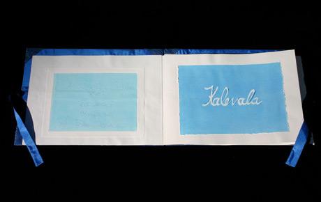 Kalevala Hand Made Book